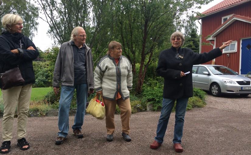Trädgårdsbesök hos Ann-Britt Höglund