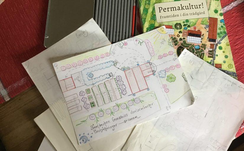 Trädgårdsdesign enligt permakultur