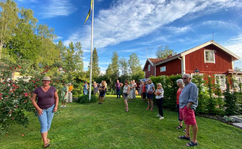 Trädgårdsbesök hos trädgårdsdesignern Linn Malmén