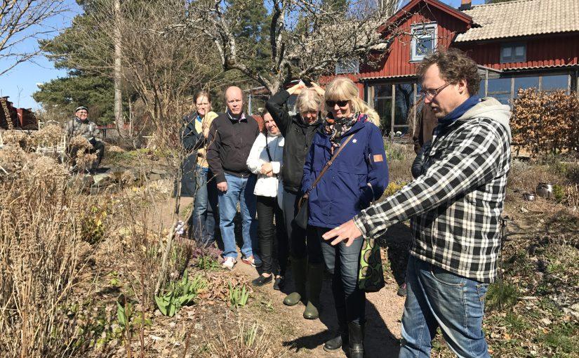 Inspiration och plantprat på Stolpens Trädgård