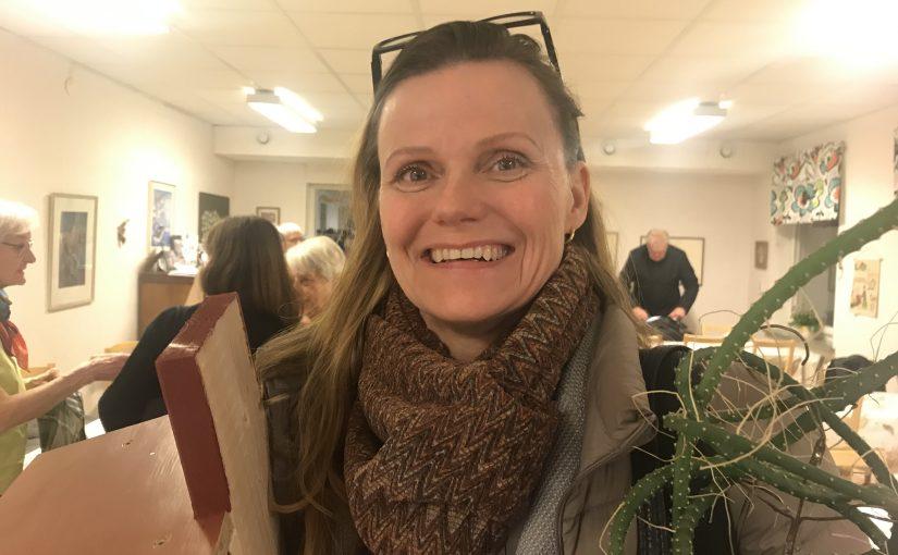 Ingrid Ekrem, förbundsdirektör för Riksförbundet Svensk Trädgård