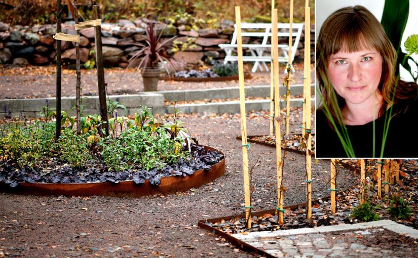 Trädgårdsdesignerns trädgård